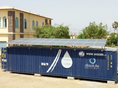Photovoltaic dissalation: clean water and energy at Massawa, Eritrea